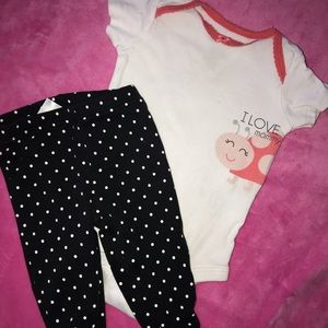 Baby Girls size 6 months outfit
